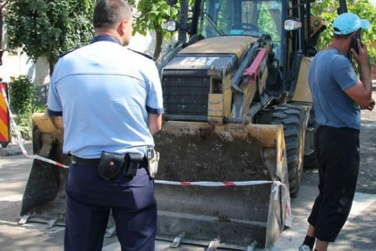 Un muncitor neatent a provocat evacuarea a 4 case pe o strada din Ploiesti