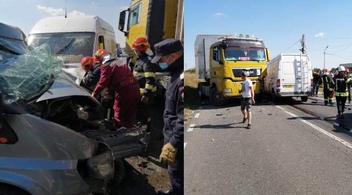 accident Dn1 B in Prahova