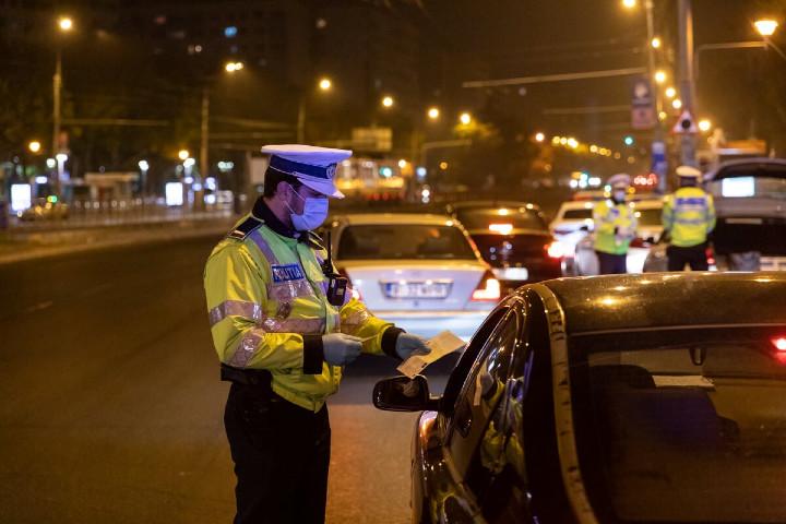 control politie noaptea